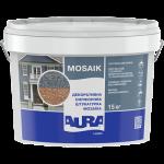 "Декоративна силіконова штукатурка ""мозаїка"", AURA Dekor Luxpro Mosaik, 15кг"